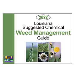 Louisiana Suggested Chemical Weed Management Guide