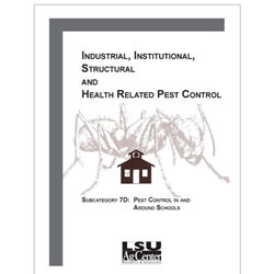 Industrial, Institutional, Structural and Health Related Pest Control - Subcategory 7D