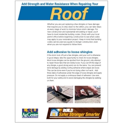 Build Safer Stronger Smarter:  Add Strength and Water Resistance When Repairing Your Roof