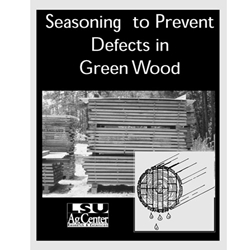 Seasoning to Prevent Defects in Green Wood