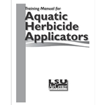 Training Manual for Aquatic Herbicide Applicators in the Southeastern United States