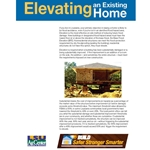Build Safer Stronger Smarter:  Elevating an Existing Home